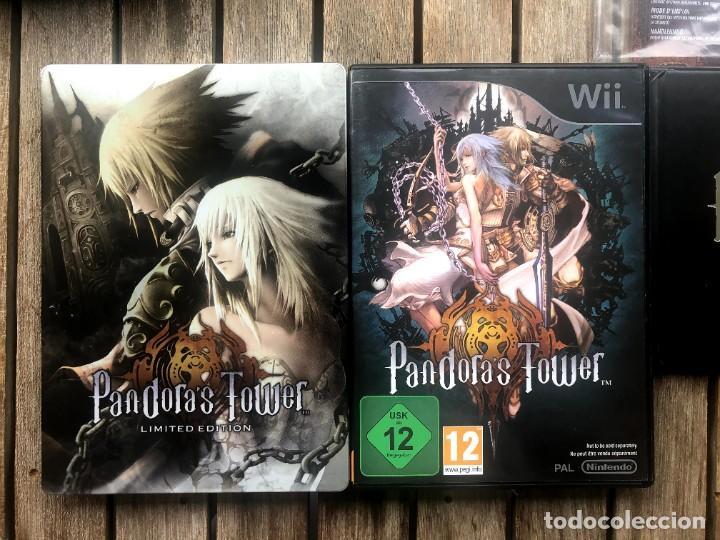 Videojuegos y Consolas: Pandoras Tower Limited Edition - Nintendo Wii - Foto 3 - 236962565
