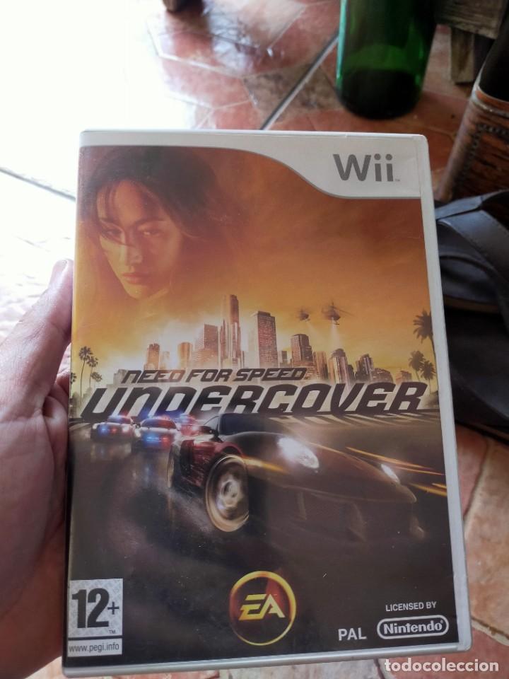 VIDEOJUEGO VIDEOCONSOLA WII NINTENDO WII NEED FOR SPEED UNDERCOVER (Juguetes - Videojuegos y Consolas - Nintendo - Wii)