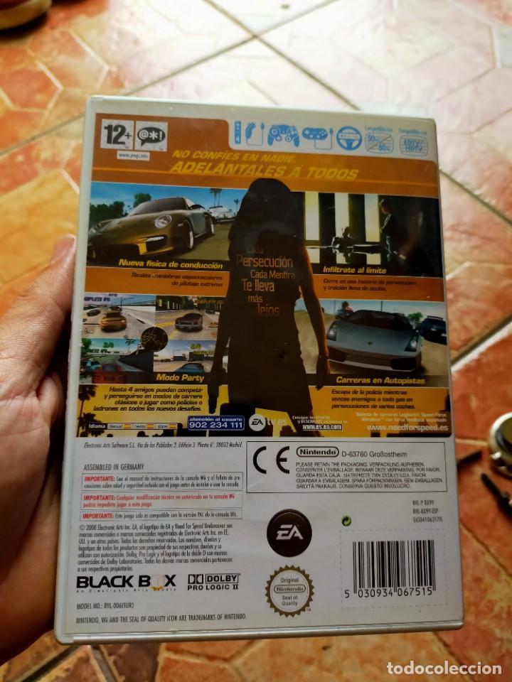 Videojuegos y Consolas: Videojuego videoconsola Wii Nintendo Wii Need For Speed Undercover - Foto 2 - 237016135