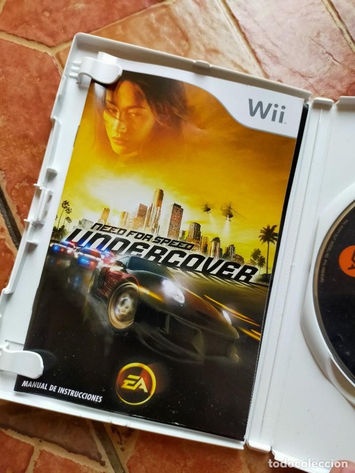 Videojuegos y Consolas: Videojuego videoconsola Wii Nintendo Wii Need For Speed Undercover - Foto 3 - 237016135