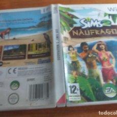 Videojuegos y Consolas: SIMS 2 NAUFRAGOS PAL ESP. Lote 237336665