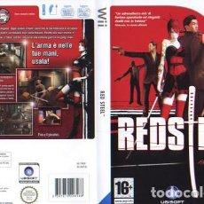 Videojuegos y Consolas: LOTE JUEGO CONSOLA NINTENDO WII - RED STEEL - BUEN ESTADO Y CON SU MANUAL. Lote 238418690