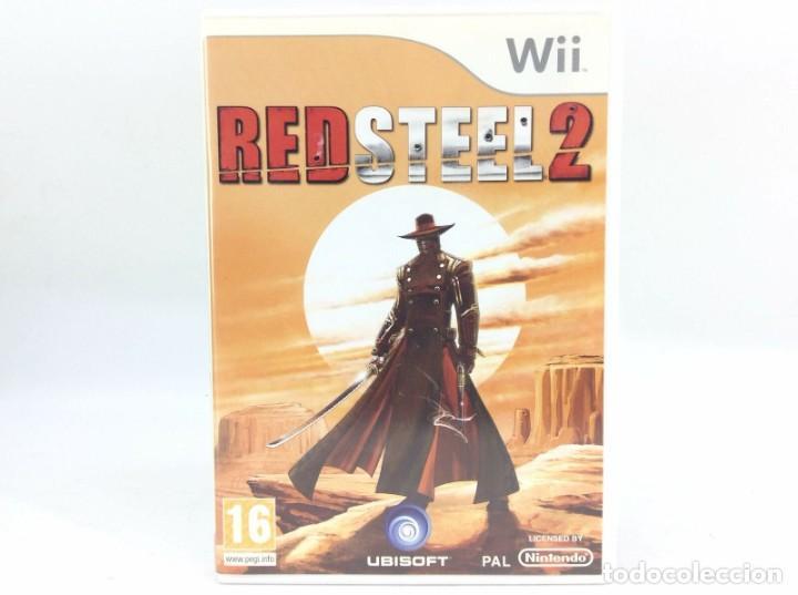 LOTE JUEGO CONSOLA NINTENDO WII - RED STEEL 2 - BUEN ESTADO Y CON SU MANUAL (Juguetes - Videojuegos y Consolas - Nintendo - Wii)