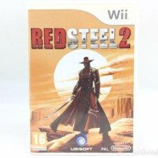 Videojuegos y Consolas: LOTE JUEGO CONSOLA NINTENDO WII - RED STEEL 2 - BUEN ESTADO Y CON SU MANUAL. Lote 238420155