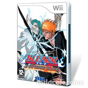 LOTE JUEGO CONSOLA NINTENDO WII - BLEACH SHATTERED BLADE - BUEN ESTADO (Juguetes - Videojuegos y Consolas - Nintendo - Wii)