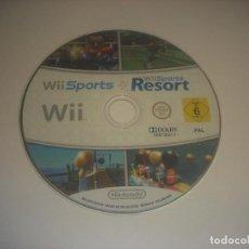 Videojuegos y Consolas: WII SPORTS RESORT.. Lote 240736890