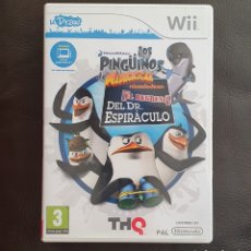 Videojuegos y Consolas: JUEGO NINTENDO WII LOS PINGÜINOS MADAGASCAR - EL REGRESO DEL DR. ESPIRÁCULO. Lote 240874685
