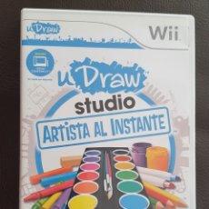 Videojuegos y Consolas: JUEGO NINTENDO WII U DRAW STUDIO ARTISTA AL INSTANTE. Lote 240875080