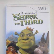 Videojuegos y Consolas: NINTENDO WII - SHREK THE THIRD. Lote 240890410