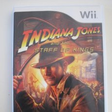 Videojuegos y Consolas: NINTENDO WII - INDIANA JONES AND THE STAFF OF KINGS. Lote 240894945