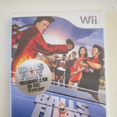 Videojuegos y Consolas: NINTENDO WII - BALLS OF FURY. Lote 240896395