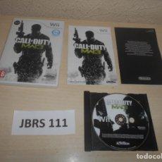 Videojuegos y Consolas: WII - CALL OF DUTY - MODERN WARFARE 3 , PAL ESPAÑOL , COMPLETO. Lote 241124855