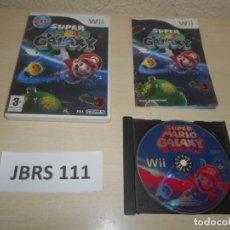 Videojuegos y Consolas: WII - SUPER MARIO GALAXY , PAL ESPAÑOL , COMPLETO. Lote 241125400