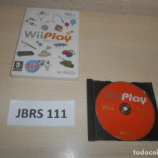 Videojuegos y Consolas: WII - WII PLAY , PAL ESPAÑOL , SIN INSTRUCIONES. Lote 241125505