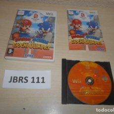 Videojuegos y Consolas: WII - MARIO & SONIC RUMBO A LOS JUEGOS OLIMPICOS , PAL ITALIANO - INCLUYE ESPAÑOL , COMPLETO. Lote 241125735