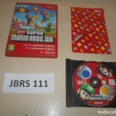 Videojuegos y Consolas: WII - NEW SUPER MARIO BROS WII , PAL ESPAÑOL , COMPLETO. Lote 241125965