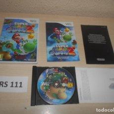 Videojuegos y Consolas: WII - SUPER MARIO GALAXY 2 , PAL ESPAÑOL , COMPLETO. Lote 241126065