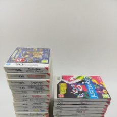 Videojuegos y Consolas: NINTENDO WII Y NINTENDO DS CAJAS CON MANUALES LOTE. Lote 241797740