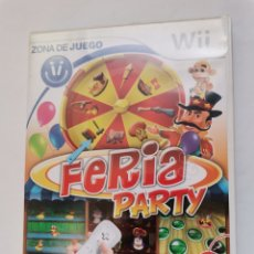 Videojuegos y Consolas: FERIA PARTY WII 20 JUEGOS. Lote 242124535
