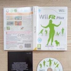 Videojuegos y Consolas: JUEGO NINTENDO WII FIT PLUS. Lote 243043460