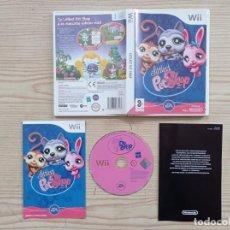 Videojuegos y Consolas: JUEGO NINTENDO WII LITTLEST PET SHOP. Lote 243044515