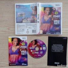 Videojuegos y Consolas: JUEGO NINTENDO WII ZUMBA FITNESS WORLD PARTY. Lote 243045435