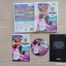 Videojuegos y Consolas: JUEGO NINTENDO WII ZUMBA KIDS. Lote 243045660