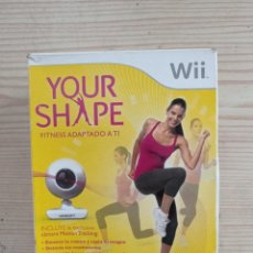 Videojuegos y Consolas: JUEGO NINTENDO WII YOUR SHAPE + CAMARA + ESTUCHE. Lote 243046275