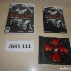 Videojuegos y Consolas: WII - RESIDENT EVIL - THE UMBRELLA CHRONICLES , PAL ESPAÑOL , COMPLETO. Lote 244732185
