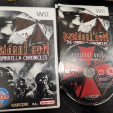 Videogiochi e Consoli: WII - RESIDENT EVIL - THE UMBRELLA CHRONICLES , PAL ESPAÑOL , COMPLETO. Lote 245401060