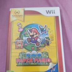 Videojuegos y Consolas: SUPER PAPER MARIO WII. Lote 245767485