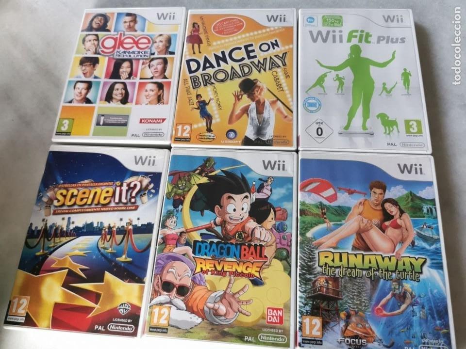5 JUEGOS WII, DANCE ON BROADWAY, SCENE IT?, GLEE, FIT PLUS, RUNAWAY (Juguetes - Videojuegos y Consolas - Nintendo - Wii)