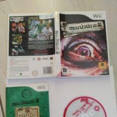 Videojuegos y Consolas: MANHUNT 2 NINTENDO WII COMPLETO PAL-ESPAÑA ORIGINAL 100%. Lote 246257930