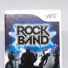 Videojuegos y Consolas: ROCK BAND WII. Lote 246351545