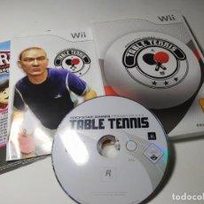 Videojuegos y Consolas: TABLE TENNIS ( NINTENDO WII - WII U - PAL - ESPAÑA). Lote 247062190