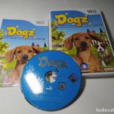 Videojuegos y Consolas: DOGZ ( NINTENDO WII - WII U - PAL - ESPAÑA). Lote 247062275