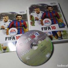 Videojuegos y Consolas: FIFA 10 ( NINTENDO WII - WII U - PAL - ESPAÑA). Lote 247062595