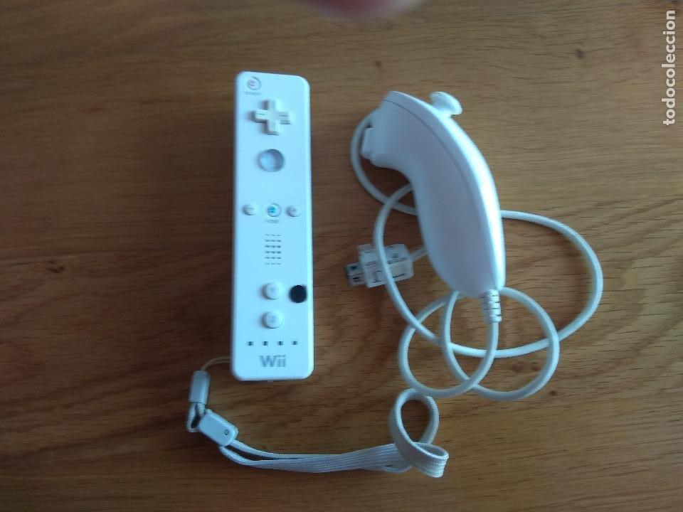 MANDO NINTENDO WII ORIGINAL Y NUNCHUK (Juguetes - Videojuegos y Consolas - Nintendo - Wii)