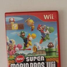 Videojuegos y Consolas: JUEGO SUPER MARIO BROS WII - 2009 NINTENDO - FUNCIONA. Lote 248174010