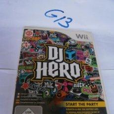 Videojuegos y Consolas: ANTIGUO JUEGO WII - DJ HERO. Lote 249319405