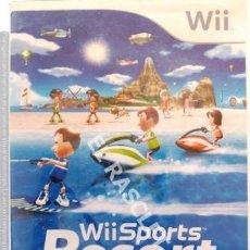 Videojuegos y Consolas: WII SPORTS -RESORT - NINTENDO --. Lote 249344540