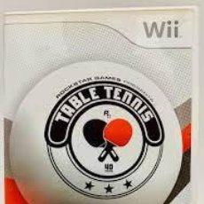 Videojuegos y Consolas: TABLE TENNIS WII PAL. Lote 252474345