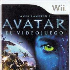 Videojuegos y Consolas: JAMES CAMERON´S AVATAR EL VIDEOJUEGO WII. Lote 253515980
