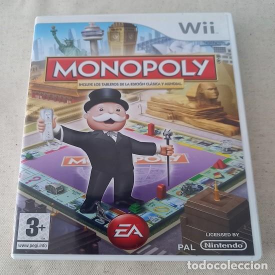 MONOPOLY (NINTENDO WII - ESPAÑA) ¡USADO! (Juguetes - Videojuegos y Consolas - Nintendo - Wii)