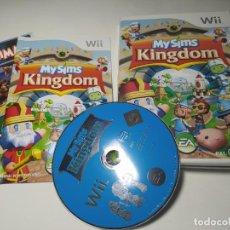 Videojuegos y Consolas: MYSIMS KINGDOM ( NINTENDO WII - WII U - PAL - ESPAÑA ). Lote 254263895