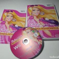 Videojuegos y Consolas: BARBIE PLANETA FASHIONISTA ( NINTENDO WII - WII U - PAL - ESPAÑA ). Lote 254264165