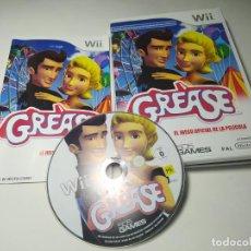 Videojuegos y Consolas: GREASE ( NINTENDO WII - WII U - PAL - ESPAÑA ). Lote 254264300