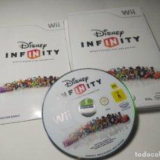 Videojuegos y Consolas: DISNEY INFINITY ( SIN TABLERO) ( NINTENDO WII - WII U - PAL - ESPAÑA ). Lote 254264395