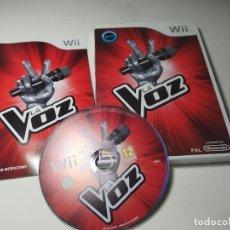 Videojuegos y Consolas: LA VOZ ( NINTENDO WII - WII U - PAL - ESPAÑA ). Lote 254264490