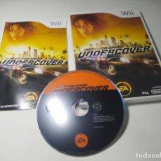 Videojuegos y Consolas: NEED FOR SPEED UNDERCOVER ( NINTENDO WII - WII U - PAL - ESPAÑA ). Lote 254264760